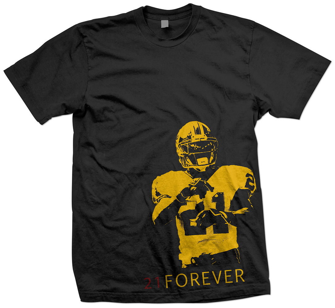 Rogue Squirrel Sean Taylor Shirt