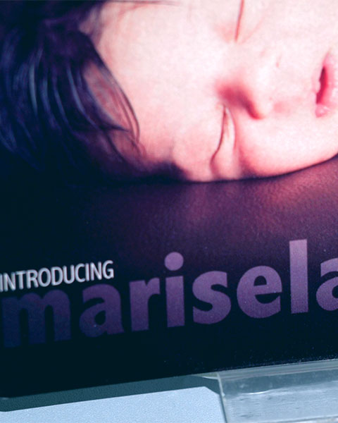 Marisela Ali Birth Announcement Close-up